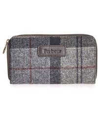 Barbour - Wool Tartan Purse - Lyst