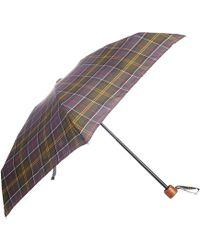 Barbour Tartan Ladies Handbag Umbrella - Multicolor