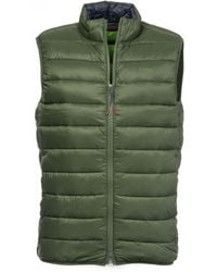 Barbour Crone Mens Gilet - Green