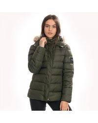 Calvin Klein Essential Womens Down Jacket - Green