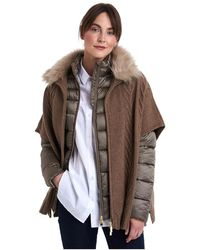 Barbour Beresford Cape - Brown