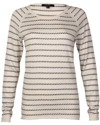 GANT Ocean Safari Sailor Stripe Ladies Sweater - Multicolor