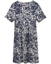 Joules - Carly Jersey Printed Dress (v) - Lyst