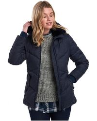 Barbour Scuttle Quilted Jacket - Blue