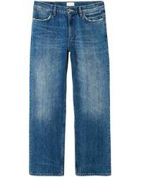 GANT Selvedge Loose Jeans S/s - Blue
