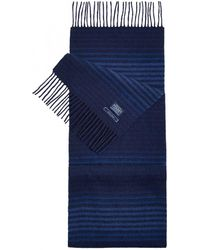 Joules Tytherton Wool Mens Scarf (x) - Blue