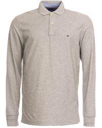 Tommy Hilfiger Hilfiger Regular Long Sleeve Shirt - Grey