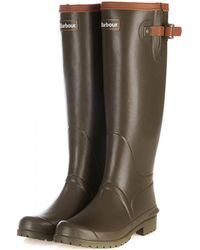 Barbour - Blyth Ladies Wellingtons - Lyst