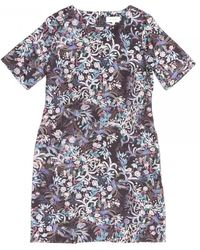 Thought Blooms Dress - Blue