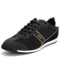 BOSS Glaze Lowp Mewt Shoes - Black