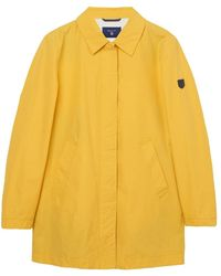 GANT Spring Mac S Coat Go M - Yellow