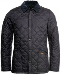 Barbour Heritage Liddesdale Quilted Jacket - Blue