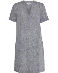 Great Plains - Layla Linen Melange Womens Smock Dress - Lyst