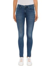 Tommy Hilfiger Como Skinny Raw Denim Jeans - Blue
