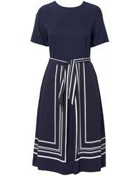 GANT - Border Stripe Womens Dress S/s - Lyst
