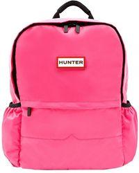 HUNTER Original Nylon Backpack - Pink
