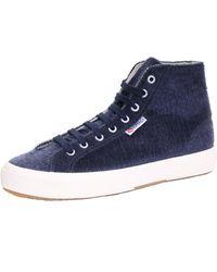 Superga 2754 Synthorsew Ladies Shoe - Blue