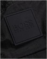 BOSS by HUGO BOSS Saul Logo Badge Bucket Hat - Black
