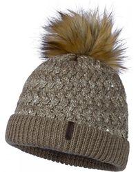Schoffel Knitted Hat Amiensi - Brown