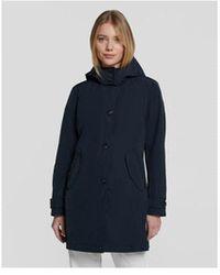 Woolrich Charlotte Coat - Blue