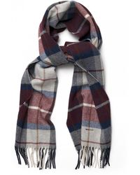 GANT - Check Lambswool Mens Scarf (aw17) - Lyst