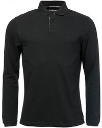 Barbour Ls Sports Polo Shirt - Black