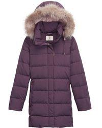 Aigle Downshine Ladies Jacket - Purple