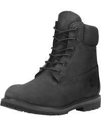 Timberland 6 Inch Premium Ladies Waterproof Boots - Black