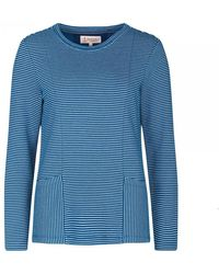 Seasalt Pinpoint Sweatshirt - Blue