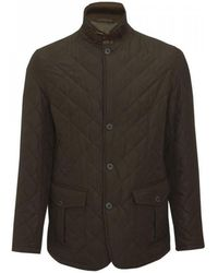 Barbour - Quilted Lutz Mens Jacket - Lyst
