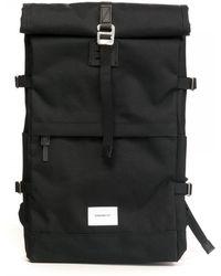 Sandqvist Bernt Roll Top Backpack - Black