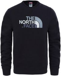 The North Face - Drew Peak Mens Crew - Lyst