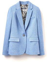Joules Lizbeth Tweed Ladies Blazer (w) - Blue