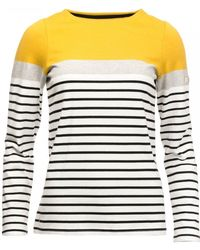 Joules Harbourbk Long Sleeve Womens Jersey Top (z) - Multicolour