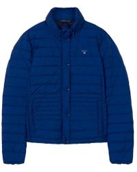 GANT Light Down Womens Jacket - Blue