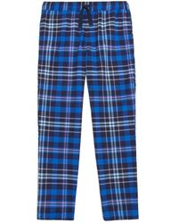 Joules - Relaxwell Check Mens Lounge Trousers (v) - Lyst