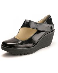 Fly London Yasi682fly Womens Shoes - Black