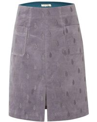 White Stuff - Senna Velvet Womens Skirt - Lyst
