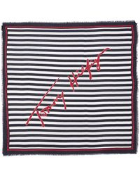 Tommy Hilfiger Tommy Signature Squa Scarves - Multicolor