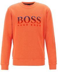BOSS by Hugo Boss Weaver Top - Orange