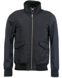 Scotch & Soda Classic Short Jacket In Nylon Quality - Black