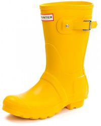HUNTER - Original Short Ladies Wellington Boots - Lyst