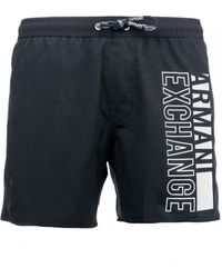 Armani Exchange Swimming Trunks - Blue