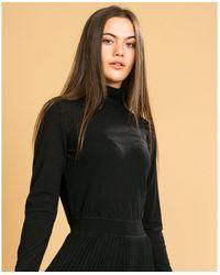 Calvin Klein Superfine Knit Dress - Black