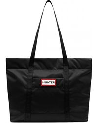 HUNTER Original Nylon Weekender Bag - Black