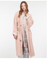 Barbour Ada Dressing Gown - Pink