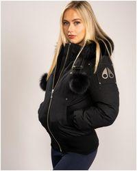 Moose Knuckles Debbie Bomber Jacket - Black