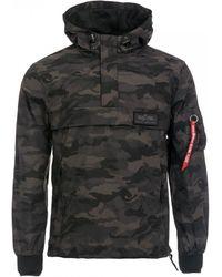 Alpha Industries Apha Industries Lw Anorak Teflon Jacket - Black