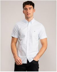 Tommy Hilfiger Slim Organic Oxford - Blue