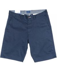 GANT Relaxed Twill Shorts - Blue